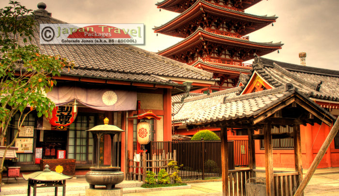 Asakusa Tokyo Japan for Japan Travel Packages
