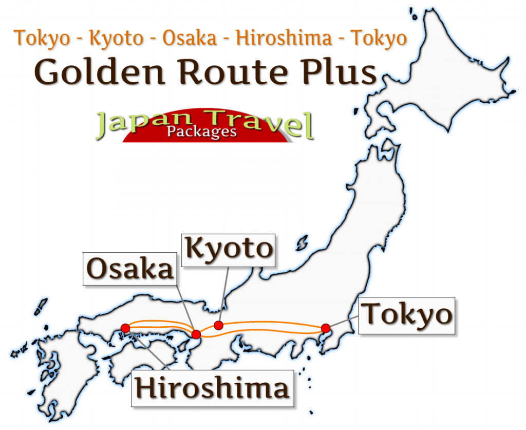 Japan Tour and Japan Travel Package - Golden Route Plus