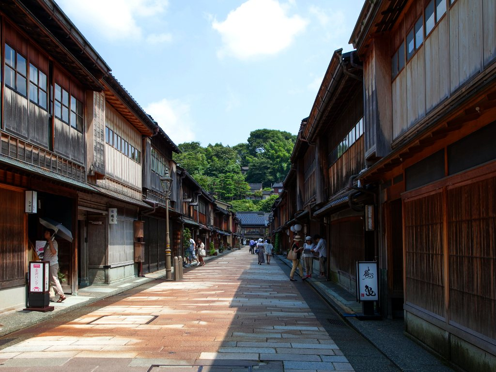 Higashi Chaya District Kanazawa Japan for Japan Travel Packages (JapanTravelPackages.com)