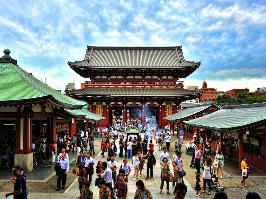 Asakusa in Tokyo Japan for Japan Travel Packages (JapanTravelPackages.com)