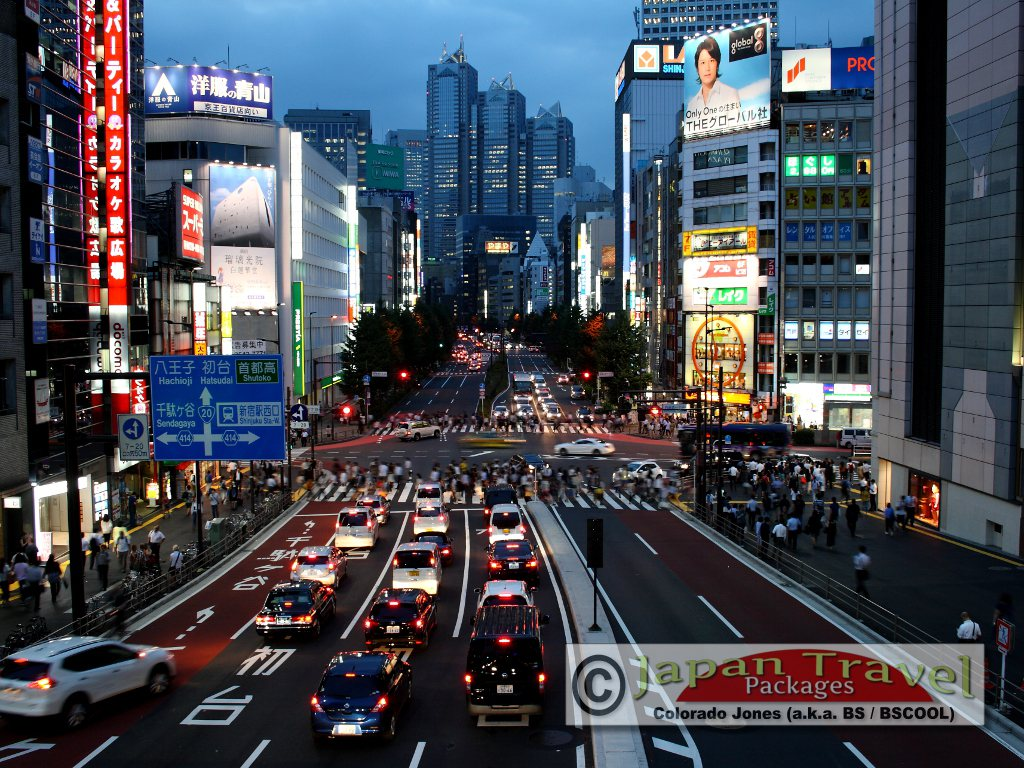 Shinjuku, Tokyo Japan for Japan Travel Packages (JapanTravelPackages.com) [BSCOOL|copyright]