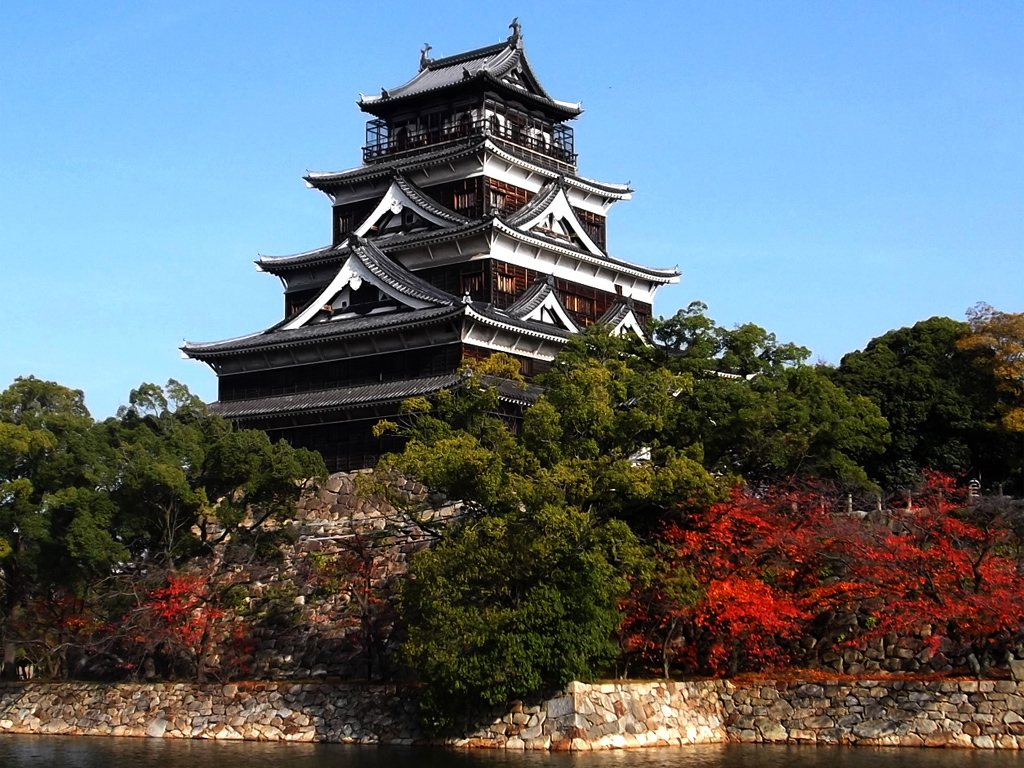 Hiroshima Castle in Japan for Japan Travel Packages (JapanTravelPackages.com)