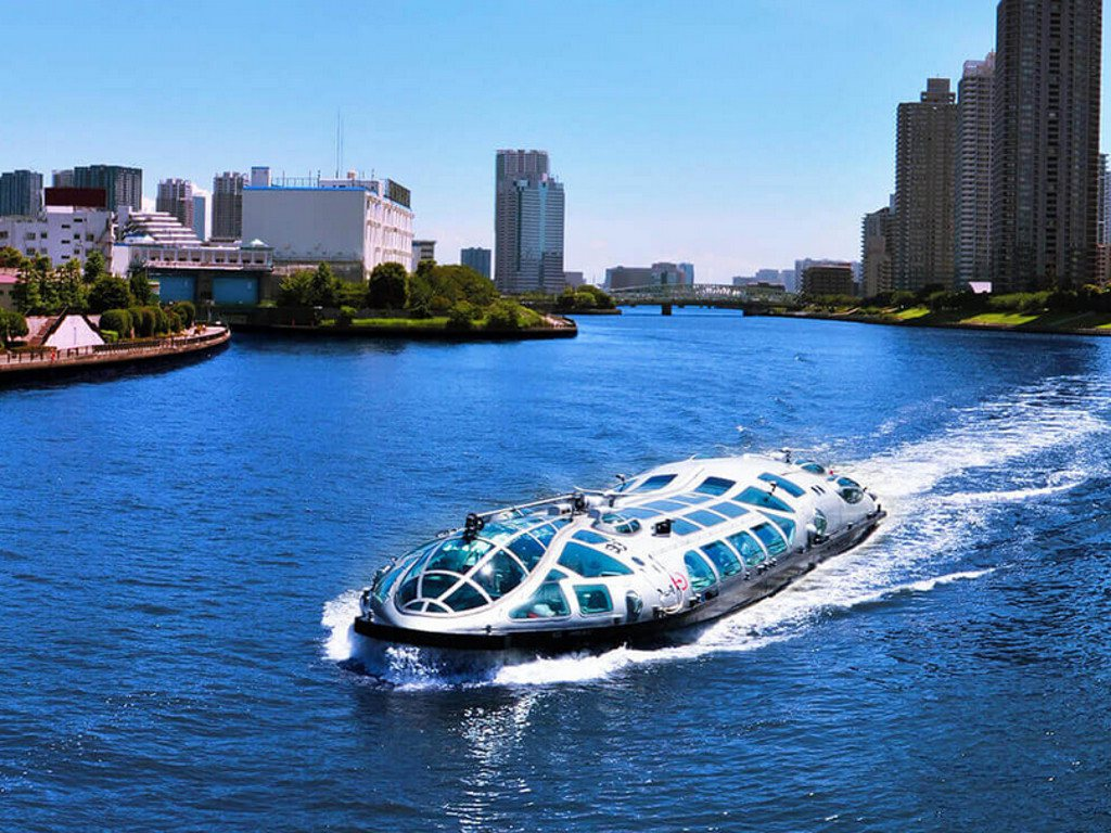 Sumida River Cruise for Japan Travel Packages (JapanTravelPackages.com)