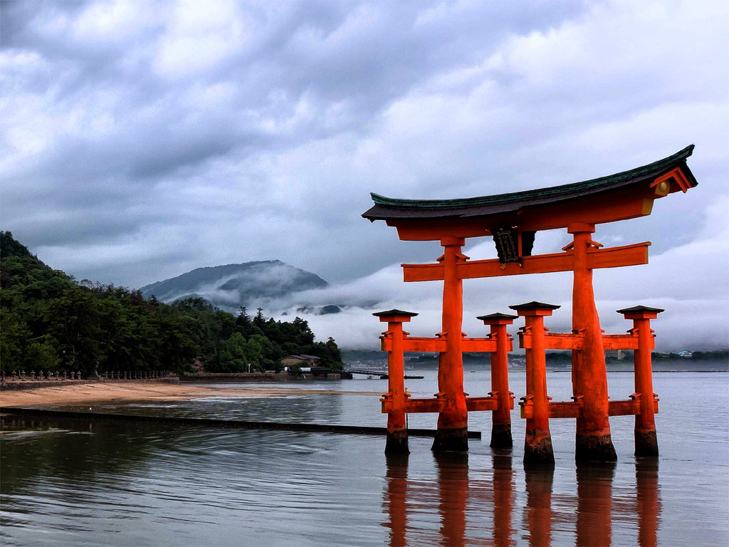 itsukushima shrine for Japan Travel Packages (JapanTravelPackages.com)