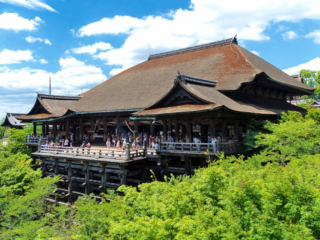 Kiyomizudera Temple in Kyoto Japan for Japan Travel Packages (JapanTravelPackages.com)
