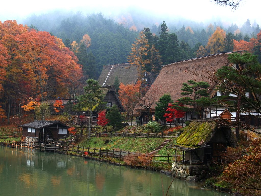 Hida Folk Village for Japan Travel Packages (JapanTravelPackages.com)
