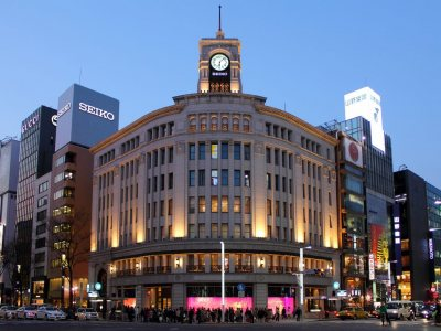 Ginza for Japan Travel Packages (JapanTravelPackages.com)