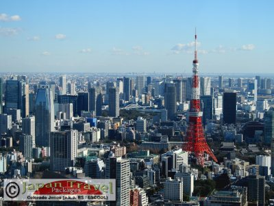 Tokyo Tower for Japan Travel Packages (JapanTravelPackages.com)