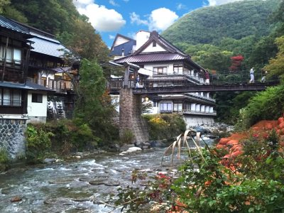 Takaragawa Onsen Japanese Hot Springs for Japan Travel Packages (JapanTravelPackages.com)