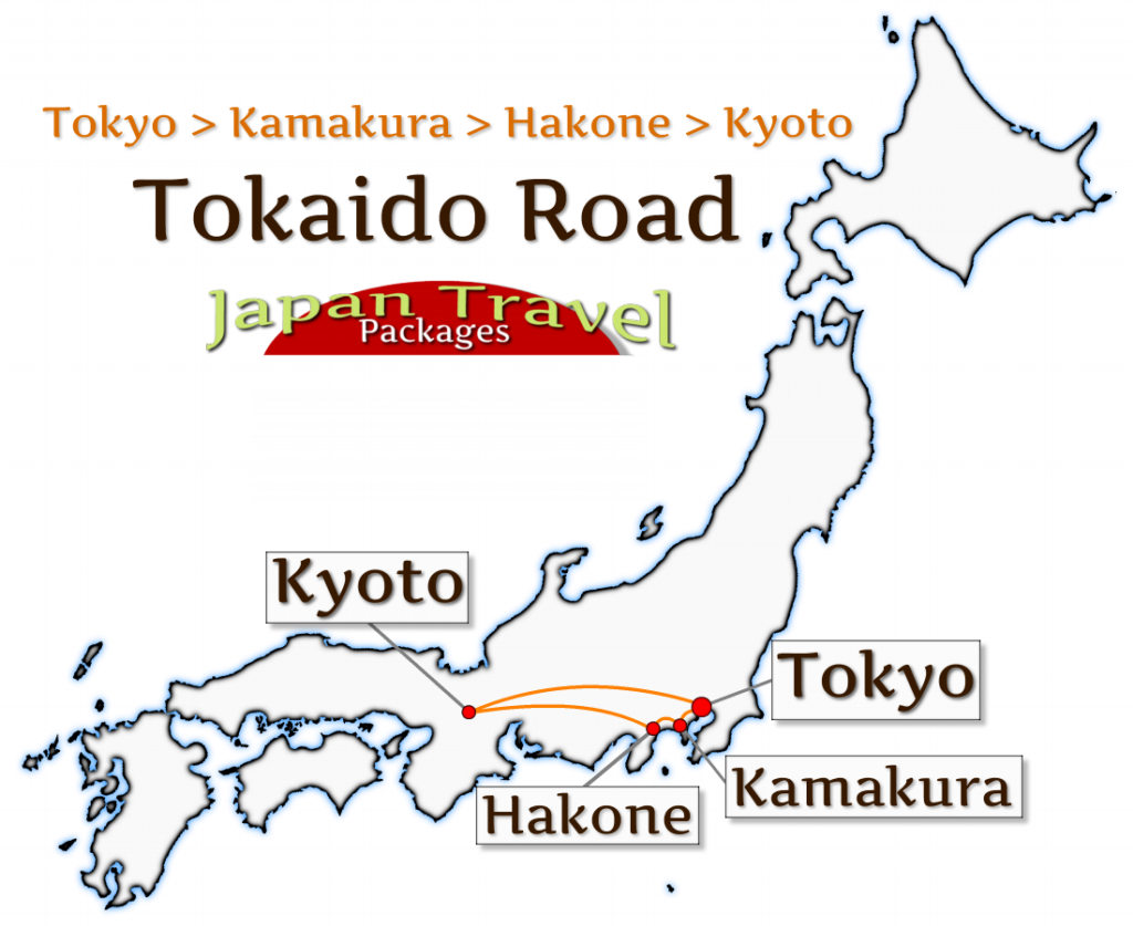 Japan Travel Packages - Tokaido Road